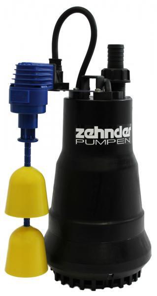 Zehnder Pumpen ZM 650 KS-kalové ponorné čerpadlo-plastové - Čerpadla, čerpadlové šachty Čerpadla Zehnder Pumpen Kalová čerpadla
