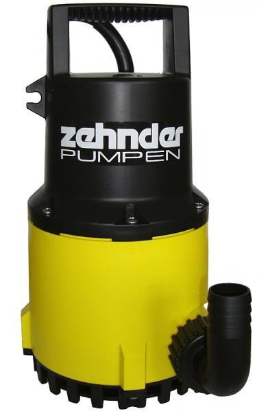 Zehnder Pumpen ZPK 30-kalové ponorné čerpadlo-plastové - Čerpadla, čerpadlové šachty Čerpadla Zehnder Pumpen Kalová čerpadla