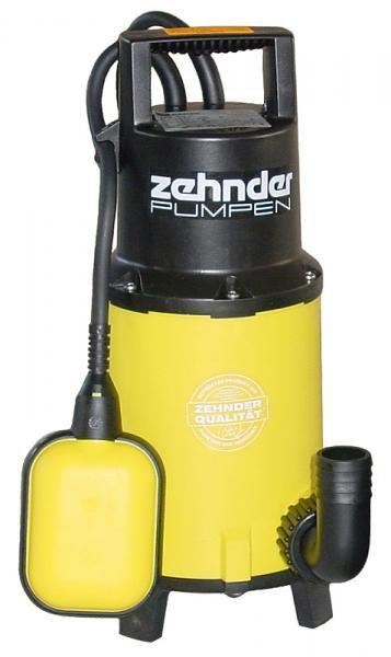 Zehnder Pumpen ZPK 40 A-kalové ponorné čerpadlo-plastové - Čerpadla, čerpadlové šachty Čerpadla Zehnder Pumpen Kalová čerpadla