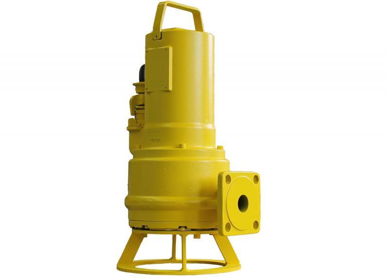 Zehnder Pumpen ZFS 71.1 D Ex-kalové ponorné čerpadlo s řezacím ústrojím-šedá litina - Čerpadla, čerpadlové šachty Čerpadla Zehnder Pumpen Čerpadla pro odpadní vody