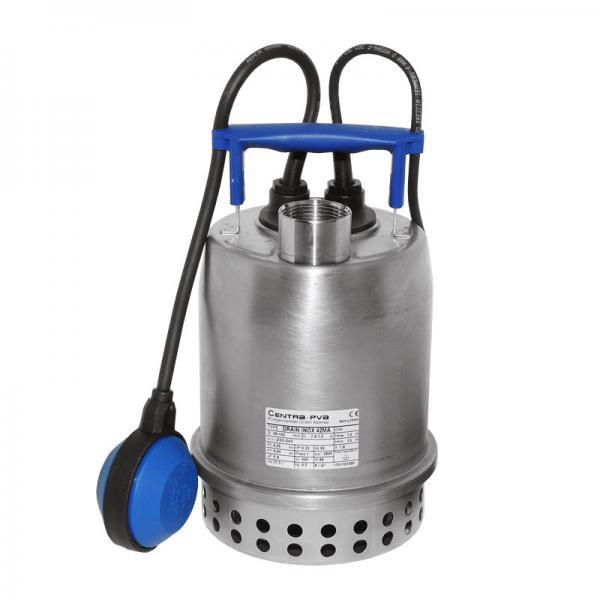 Zehnder Pumpen Drain-inox 45 A, 230 V (ponorné čerpadlo s motorem chlazeným čerpanou vodou) - Čerpadla, čerpadlové šachty Čerpadla Zehnder Pumpen Přečerpávací zařízení pro odpadní vody
