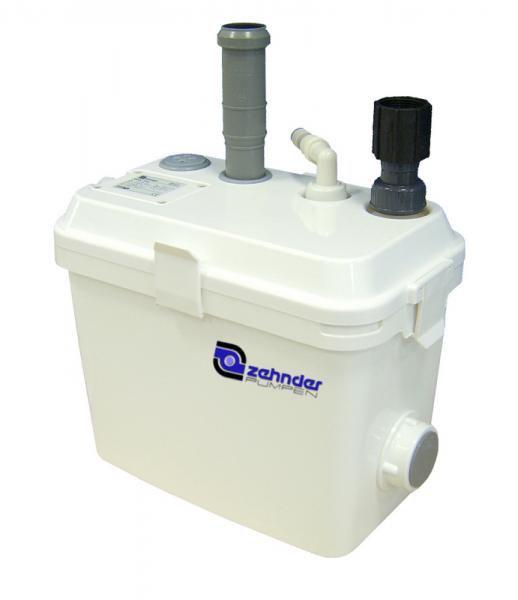 Zehnder Pumpen SWH 190 (přečerpávací zařízení pro odpadní vodu-nadzemní) - Čerpadla, čerpadlové šachty Čerpadla Zehnder Pumpen Přečerpávací zařízení pro odpadní vody