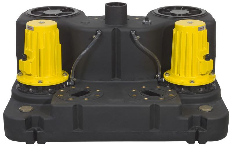 Zehnder Pumpen Boy Doppel 1,5 D 400 V (přečerpávací zařízení pro odpadní vodu) - Čerpadla, čerpadlové šachty Čerpadla Zehnder Pumpen Přečerpávací zařízení