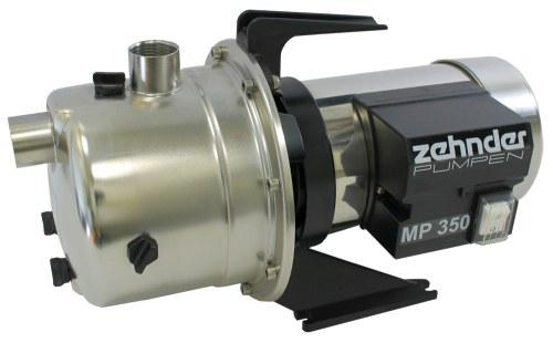 Zehnder Pumpen MP 350 vícestupňové zahradní čerpadlo - Čerpadla, čerpadlové šachty Čerpadla Zehnder Pumpen Čerpadla pro dům a zahradu