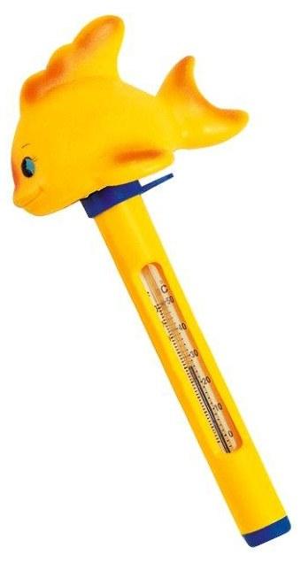 Plovoucí teploměr se zvířátky - Ryba - Péče o vodu, údržba jezírek Testování vody Měření teploty vody