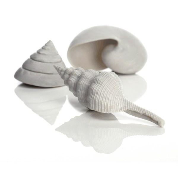 Oase biOrb mořské ulity set 3 bílé - Akvaristika Oase biOrb Dekorace a příslušenství Ornamenty