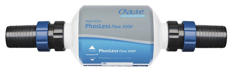 Oase PhosLess Flow 3000 (snížení fosfátů) - Péče o vodu, údržba jezírek Zlepšení kvality vody