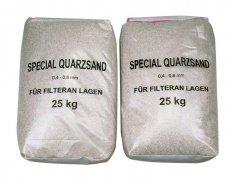 Filtrační písek do bazénové filtrace (1,0-4,0mm bal. 25kg)