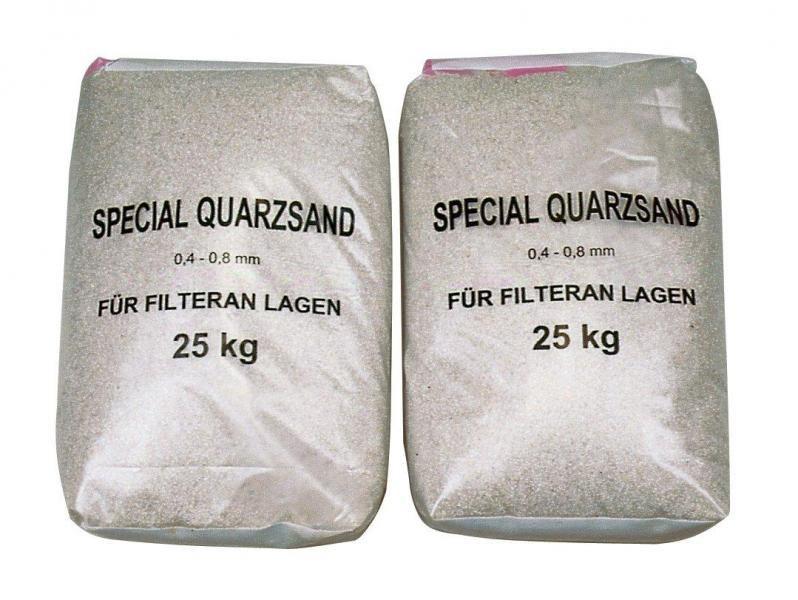 Filtrační písek do bazénové filtrace (1,0-4,0mm bal. 25kg) - Bazénové příslušenství Bazénová chemie
