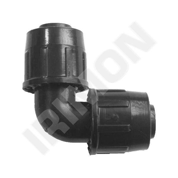 Koleno QJ 20 - 90°-20mm - Závlahový systém Fitinky Quick joint 20