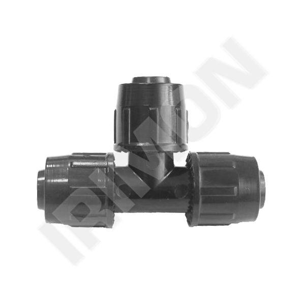 T-kus QJ 20 - 20mm - Závlahový systém Fitinky Quick joint 20