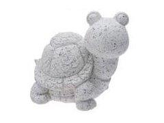 Želva bílo-šedá velká (keramika)