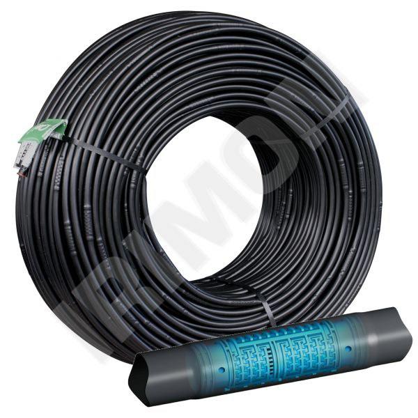 Kapkovací potrubí TANDEM-IR 16mm - nadzemní instalace 2,1 l/h 1m - Závlahový systém Kapkovací potrubí a mikrozávlaha Potrubí