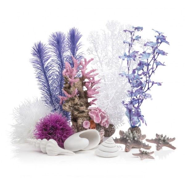 Oase biOrb sada růžový oceán 30 l - Akvaristika Oase biOrb Dekorace a příslušenství Dekorační sady