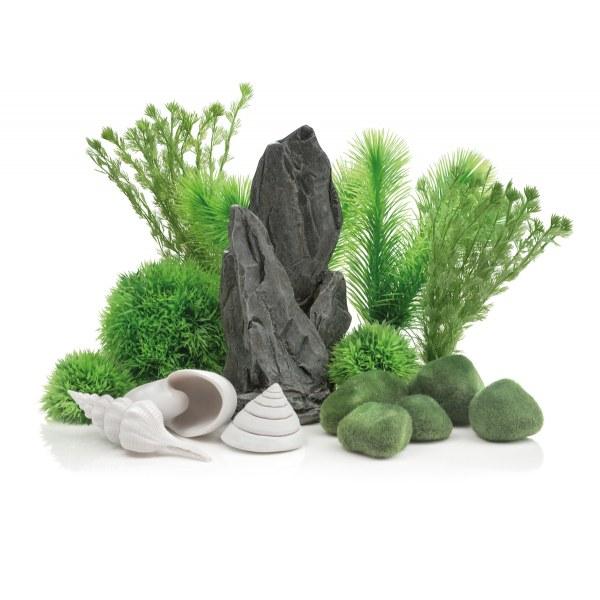Oase biOrb sada kamenná zahrada 30 l - Akvaristika Oase biOrb Dekorace a příslušenství Dekorační sady