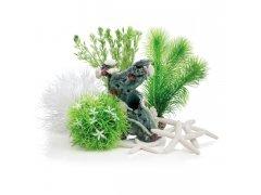 Oase biOrb dekorační sada rozkvetlá zahrada 15 l (dekorační sada)
