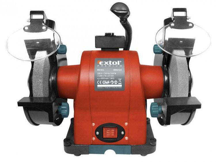 Extol Premium bruska stolní dvoukotoučová 520W - Nářadí a příslušenství Elektrické nářadí