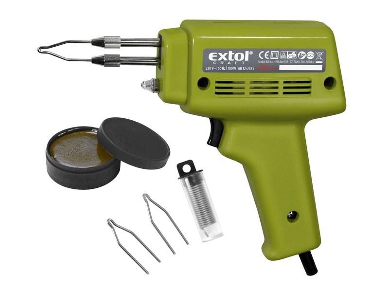Extol Craft pistole pájecí transformátorová 100W - Nářadí a příslušenství Elektrické nářadí