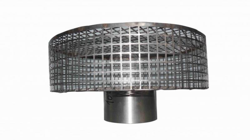 Nerezový sací koš (ø180mm) - Stavba jezírka,hadice,trubky,fitinky Gule-dnová vpusť,příruby