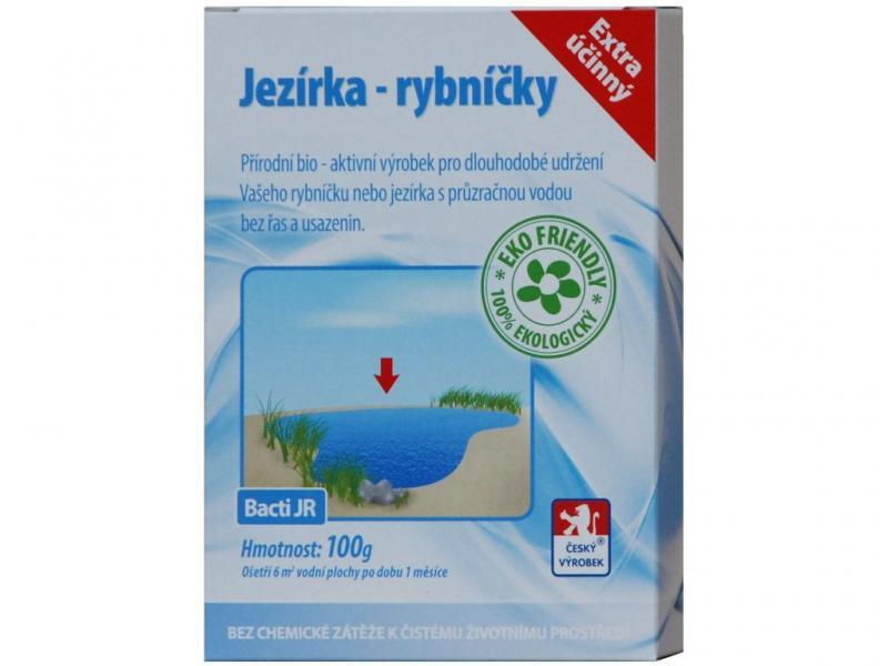 Bactoma Bacti JR - Jezírka-rybníčky bakterie (100g na 6m2) - Péče o vodu, údržba jezírek Sezónní bakterie