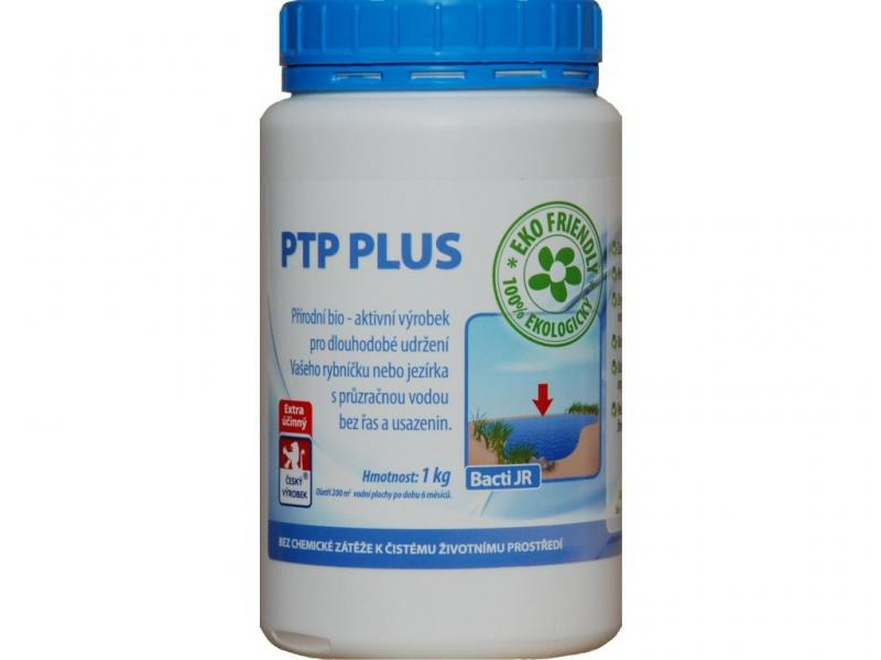 Baktoma PTP PLUS - čisté jezírko (1kg na 200m2) - Péče o vodu, údržba jezírek Sezónní bakterie