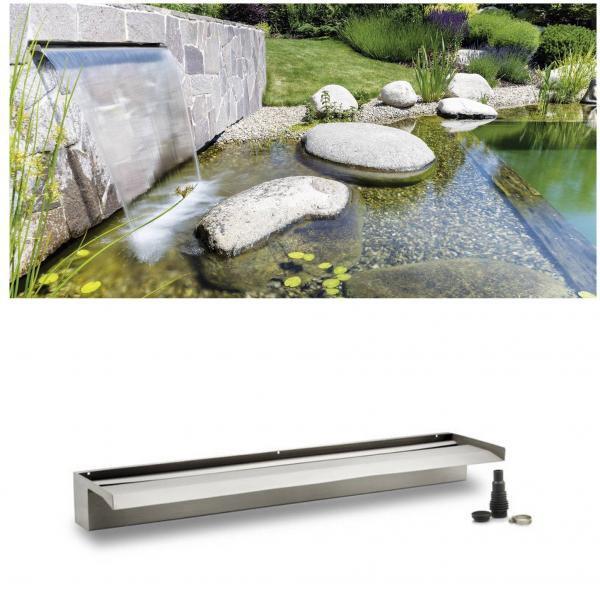 Oase Waterfall XL 90 (nerezový vodopád) - Vodní hry a fontány Vodopády