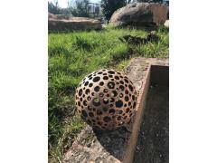 Koule střední (keramika-ruční práce)
