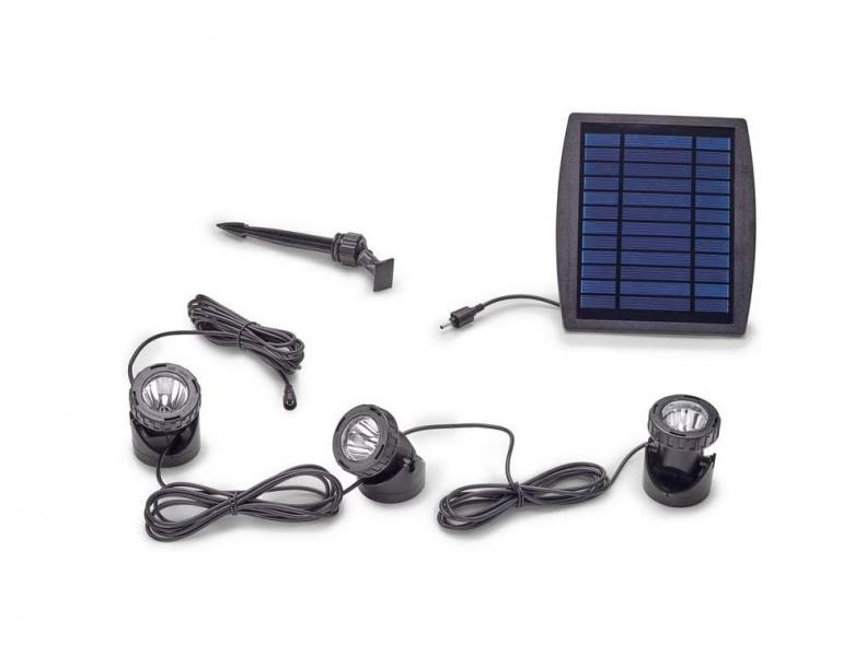Pontec PondoSolar LED set 3 (solární osvětlení) - E-shop Osvětlení, elektro k jezírku