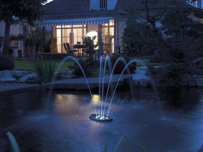 Oase Water Starlet (fontána plovoucí) - Osvětlení, elektro u jezírka Vodní hry s osvětlením