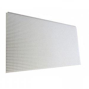 Rošt filtrační bílý (15x30x0,7cm) - Filtry,filtrační sety a filtrační materiály Filtrační materiály Ostatní
