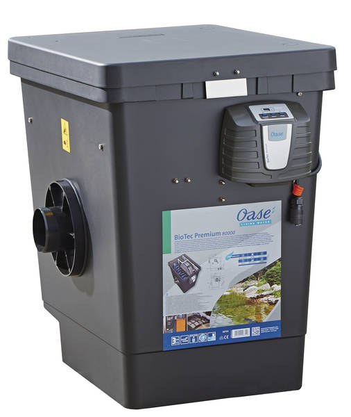 Oase BioTec Premium 80000 (bubnový prémiový filtr na 20m3) - Filtry,filtrační sety a filtrační materiály Oase filtry