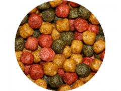 Tříbarevné krmivo pro KOI (15kg- 6mm)