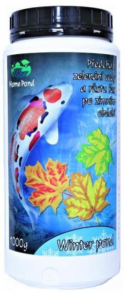 Home pond Winter pond - zazimovací přípravek (1kg na 20m3) - Péče o vodu, údržba jezírek Sezónní bakterie