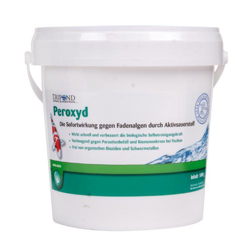 Tripond Peroxyd-odstraňuje vláknitou řasu (2,5kg na 50-125m3) - Péče o vodu, údržba jezírek Odstranění vláknité řasy
