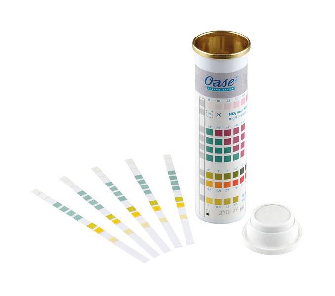 Oase QuickStick 6 in 1 - testovací proužky na vodu (50ks) - Péče o vodu, údržba jezírek Testování vody Ostatní měření