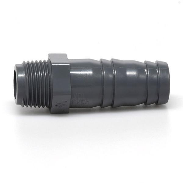 """PVC hadicový trn 20mmx1/2"""" ext. - Stavba jezírka,hadice,trubky,fitinky Tvarovky,fitinky Hadicové trny"""