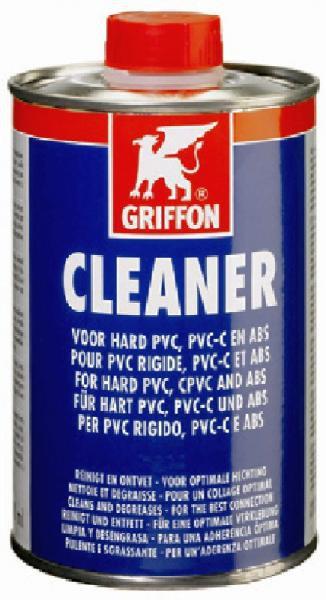 Griffon Cleaner - čistič na PVC (250ml) - Fólie, geotextílie, plastová jezírka Lepidla, spojovací pásky