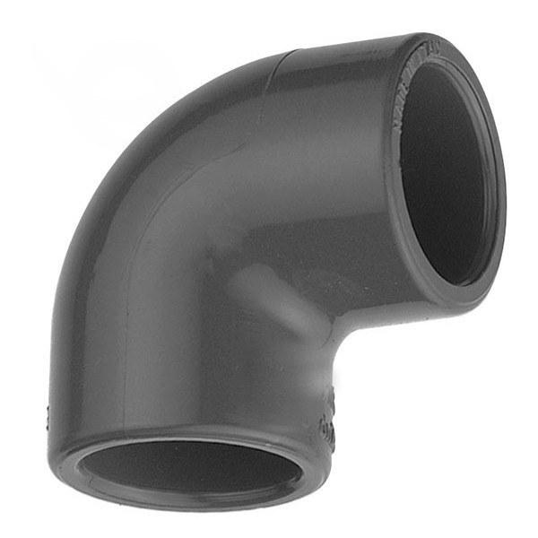 PVC úhel-koleno 90°-63mm - Stavba jezírka,hadice,trubky,fitinky Tvarovky,fitinky Úhly
